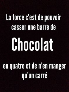 barre de chocolet